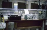 Wind tunnel in engineering lab