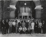 Group portrait of Engineering graphics staff