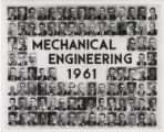 Portrait photographs of Mechanical Engineering class of 1961
