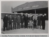 Student pilots at Purdue airport