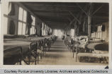 Interior view of Barracks Company 5
