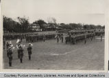 Purdue University ROTC military day inspection