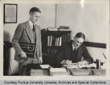 President Elliott ordering a yearbook from T.S. Wilmeth