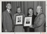 Group portrait, Indiana Livestock Breeder's Association Hall of Fame