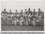 Purdue football players, 1958