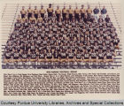 Purdue football squad, 1974