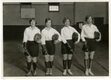 Purdue fencing athletes