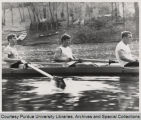 Men rowing