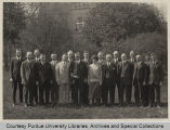 Stanley Coulter and others standing outside