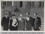 Lillian Gilbreth with A.A. Potter and others