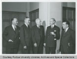President Elliott and others