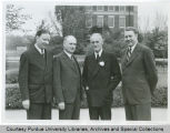 E.C. Elliott and Purdue administrators