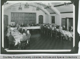 E.C. Elliott at head table