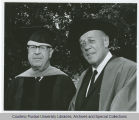 President F.L. Hovde and B. William Bogan