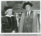 President F.L. Hovde and Caroline Gordon