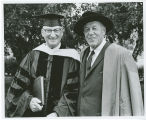 President F.L. Hovde and Norman J. Volk