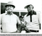 President F.L. Hovde and Byron Nelson