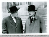President F.L. Hovde and H.W. Thompson