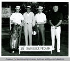President F.L. Hovde and others at golf tournament