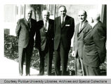 President F.L. Hovde at Tri-State College