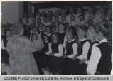 Young people singing