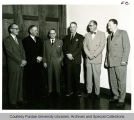 President F.L. Hovde and engineering administrators