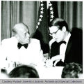President F.L. Hovde and Elliott L. Richardson