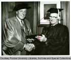President F.L. Hovde and George W. Danner
