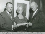 President F.L. Hovde and Mr. and Mrs. Shreve