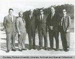President F.L. Hovde and others in Brazil