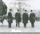 President Winthrop E. Stone and others