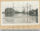 Main St. levee looking east