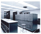 Card catalog in Management and Economics Library