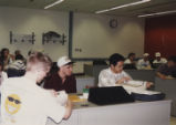 Students in computer lab in Hicks Undergraduate Library