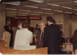 Reception at Hicks Undergraduate Library