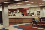 Reference desk in John W. Hicks Undergraduate Library