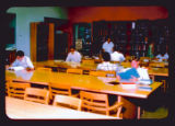 Students studying in Purdue Chemistry Library