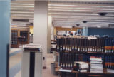 Bookcases in HSSE library