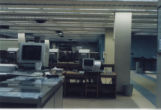 Computer workstations in HSSE library