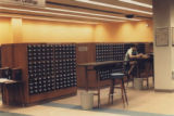 Card catalog in HSSE library