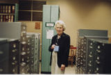 Betty Jones in HSSE library