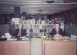 HSSE library staff at reference desk