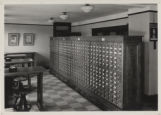 Card catalog in Main Library