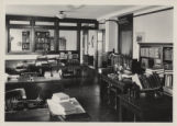Cataloging department in Main Library