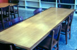 Study table in Consumer and Family Sciences Library
