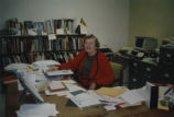 Helen Schroyer in Special Collections Library