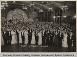 Students at 1934 Junior Prom