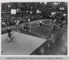 Athletic Carnival in Memorial Gymnasium
