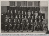 Group portrait of convocation under the auspices of the Chinese Student Club