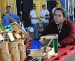 Sharon Greenfield at Rube Goldberg Machine Contest